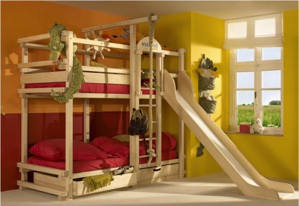 5 unique bunk bed ideas. Black Bedroom Furniture Sets. Home Design Ideas
