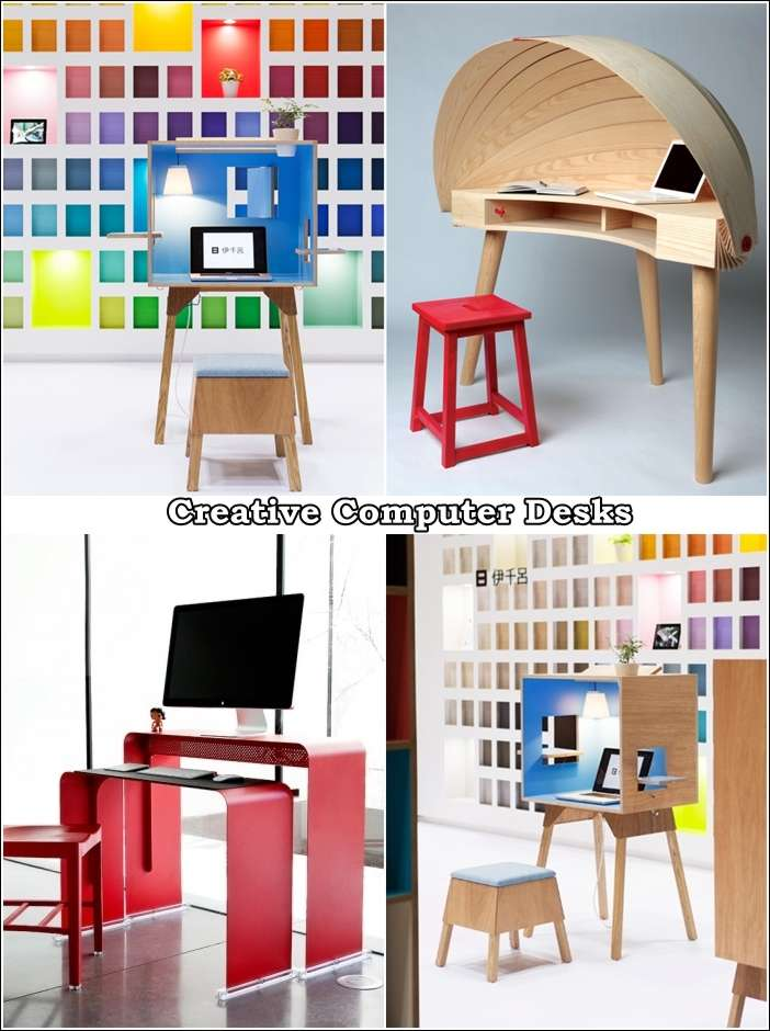 cool home office designs practical cool. If You Have To Work At Home After Office Hours And Need A Computer Desk  That Is Practical Innovate Then Look These Cool Designs: Designs