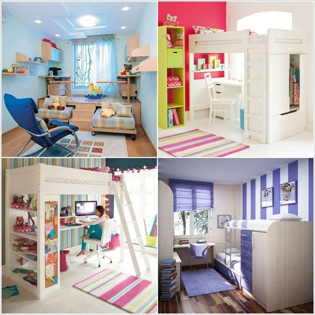 Study Room At Home: 5 Space Saving Ideas To Add A Study Space To Your Kids Room
