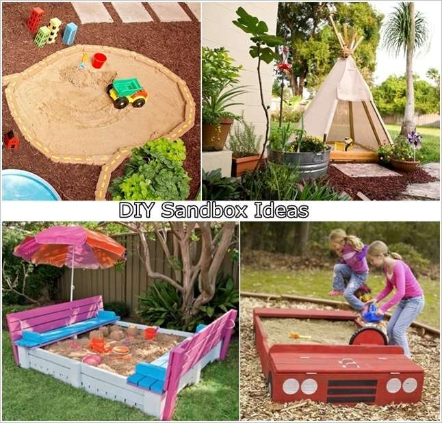 5 cool diy sandbox ideas for your kiddos - Sandbox Design Ideas