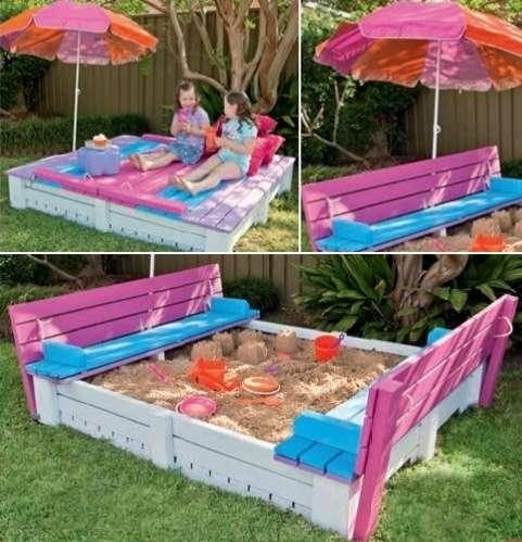 cool diy sandbox ideas for your kiddos