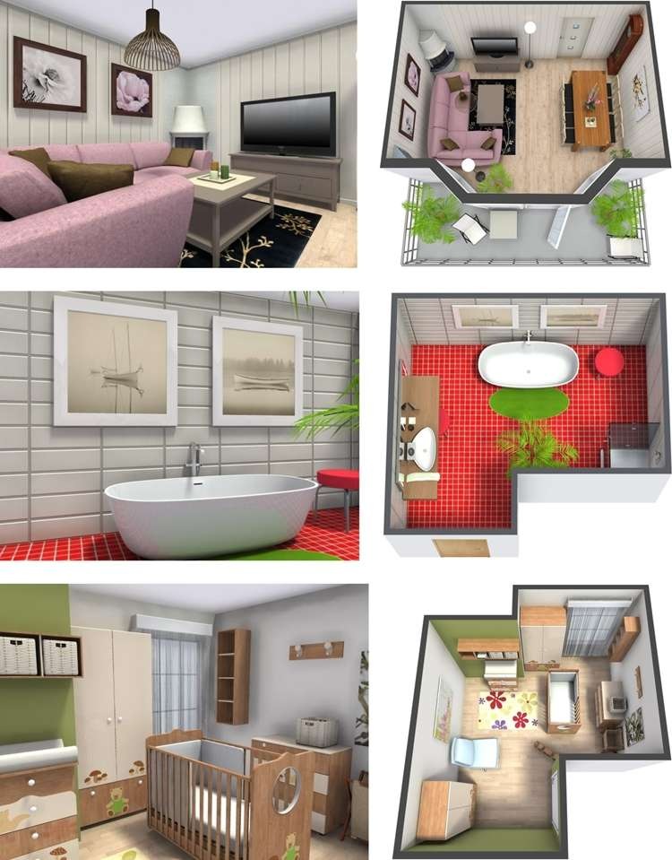 Design My Own Living Room Online Free: 10 Best Designs Of RoomSketcher; A Wonderful 3D Design