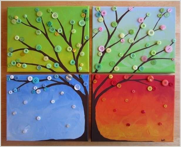 Картины в детском саду своими руками