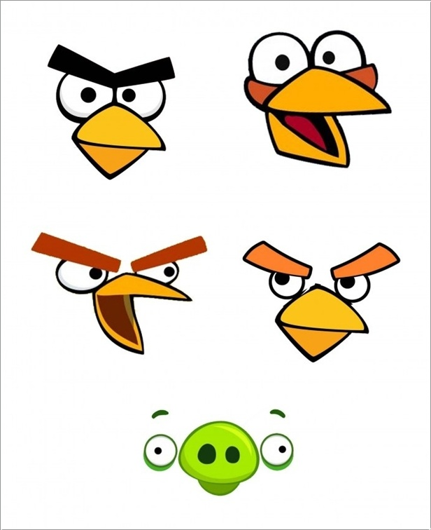 How amazing are these angry birds easter eggs 2 pronofoot35fo Images