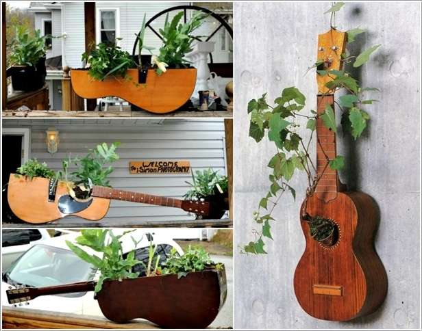 5 Ideas To Recycle Old Guitars And Let Them Rock Once More