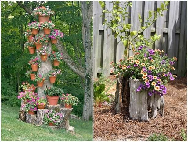 21 more creative tree stump decorating ideas pictures to - Tree stump decorating ideas ...
