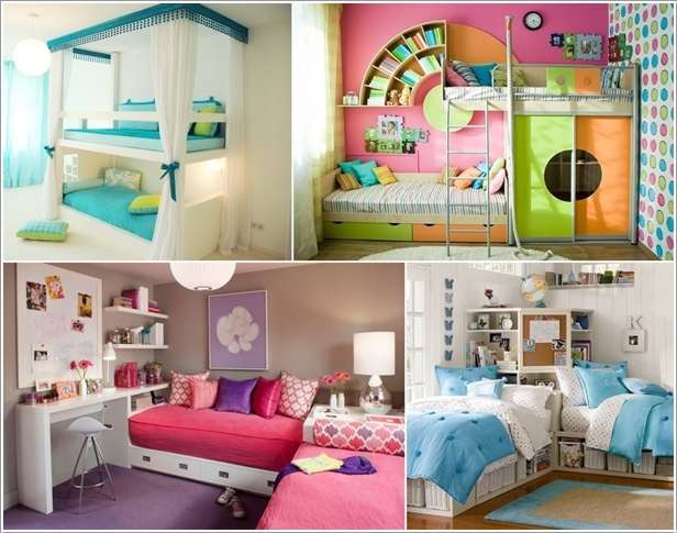 5 twin bed designs that your kids will simply love for Room design 2 twin beds