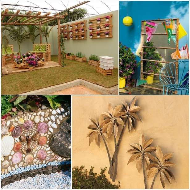 garden wall decoration ideas. a 5 Spectacular Outdoor Wall Decor Ideas that You ll Love