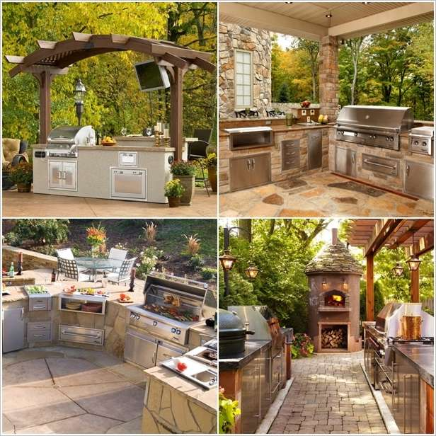 5 perfectly amazing outdoor kitchen layout ideas for Outdoor kitchen layout ideas