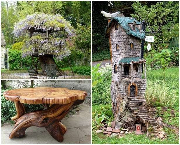 Amazing interior design new post has been published on - Tree stump decorating ideas ...