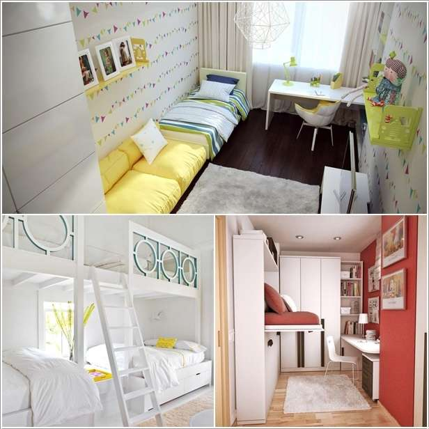 5 ingenious ideas to design narrow space kids rooms for Bedroom ideas for narrow rooms