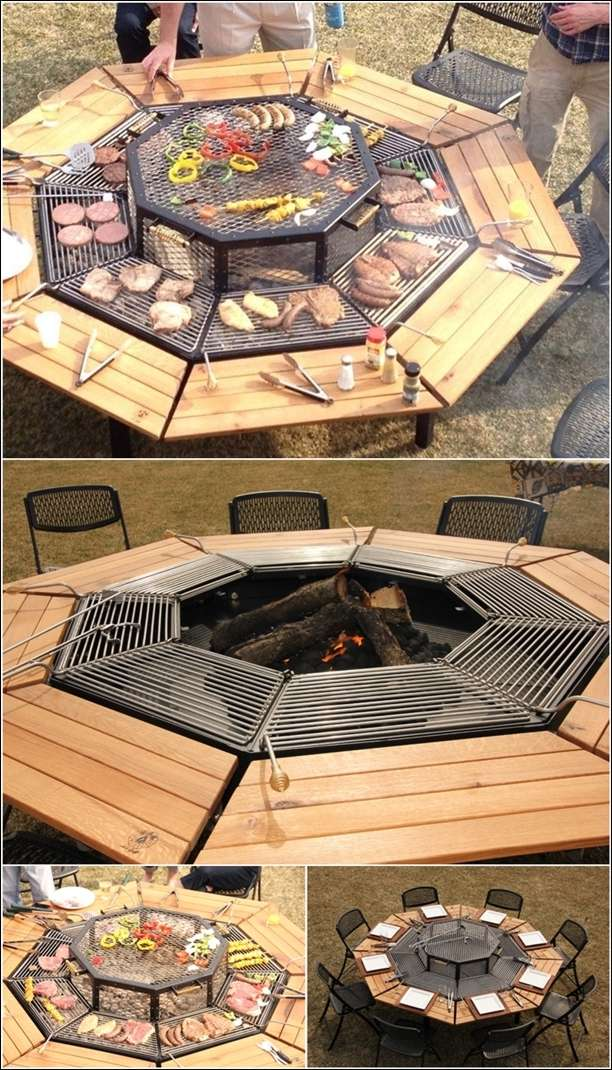 5 cool grills perfect for throwing barbeque parties - How to build a korean bbq table ...