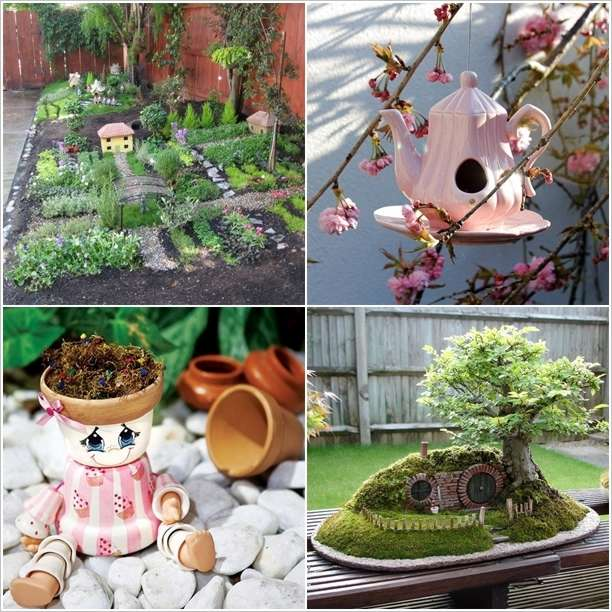 Garden Decor Ideas 5 absolutely cute and adorable garden decor ideas