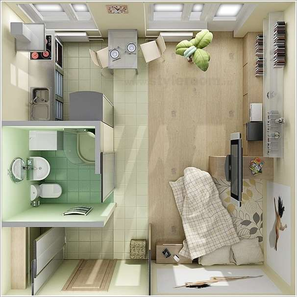 Bachelor Apartment Design Layout 10 ideas for one bedroom apartment floor plans