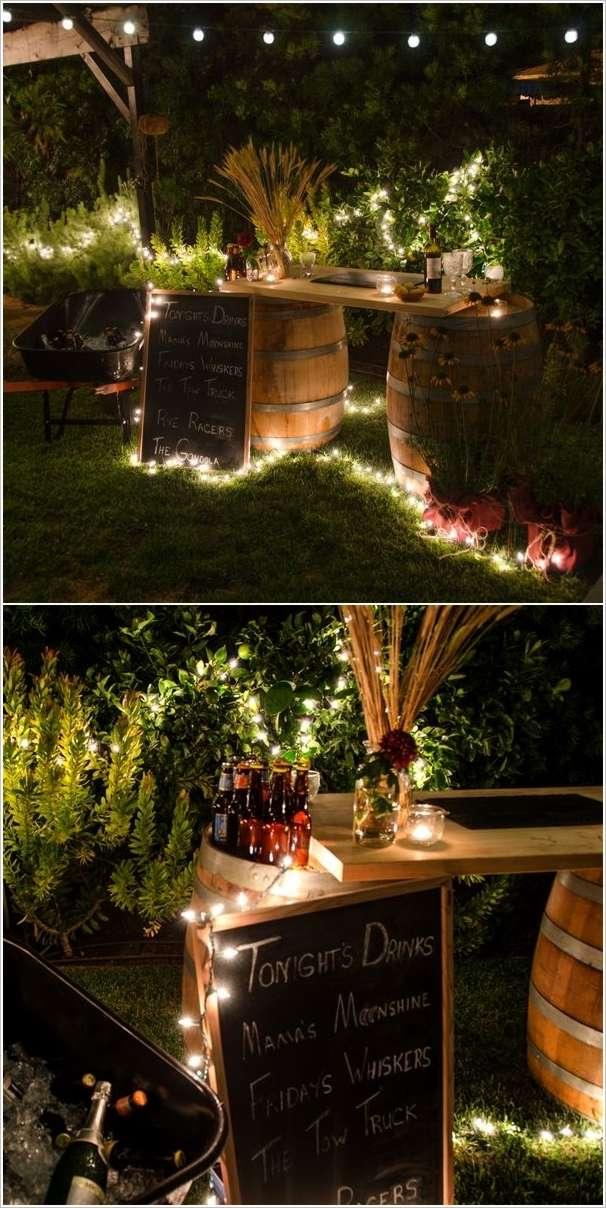 5 amazing diy outdoor bar ideas for your backyard for Cool outdoor patio ideas