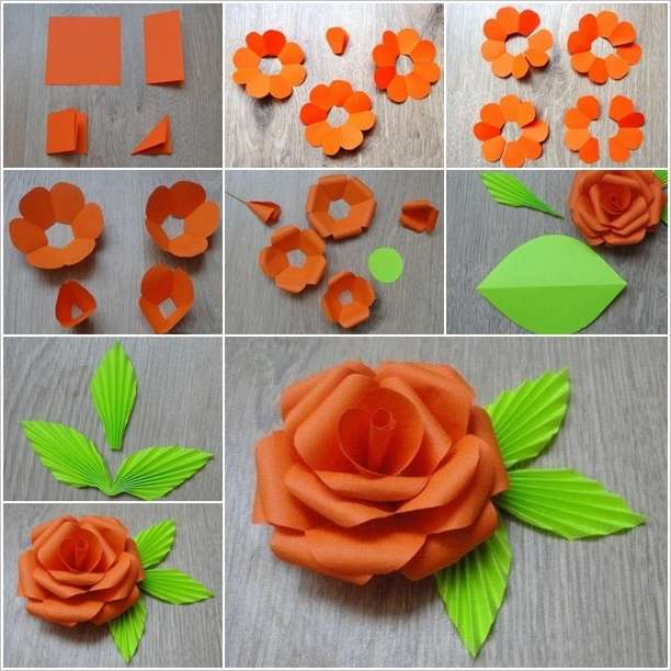 How to make a flower paper step by step vaydileforic how mightylinksfo