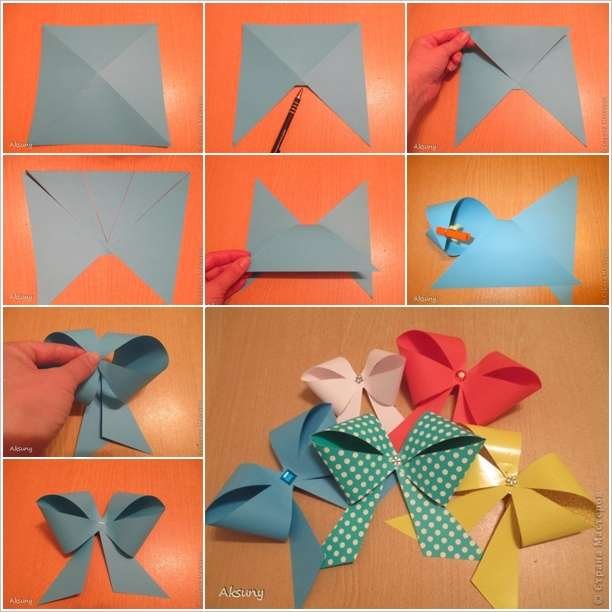 Craft These Easy Paper Bows In Just A Few Minutes