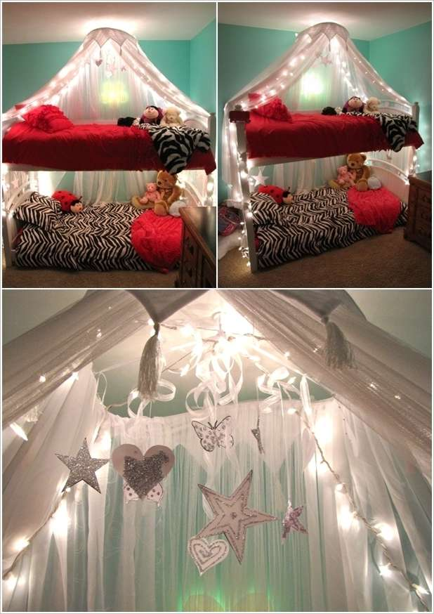 String Lights For Children S Room : 6 Amazing Bunk Bed Lighting Ideas for Your Kids Room