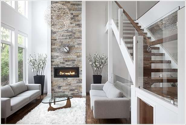 A Stylish Stone Accent Wall 2