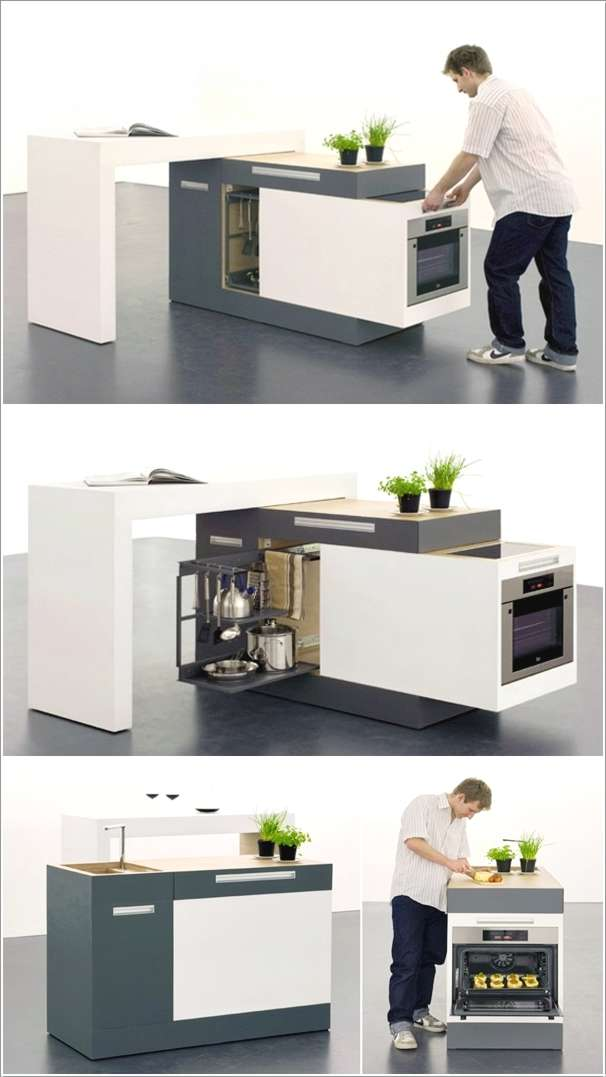 10 Innovative Compact Kitchen Designs For Small Spaces