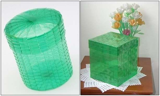 Plastic Bottles Got Recycled Into These Amazing Woven Baskets