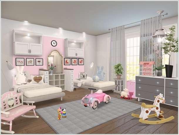 Image via  Homestyler. 33 Kids Room Models Made by Homestyler