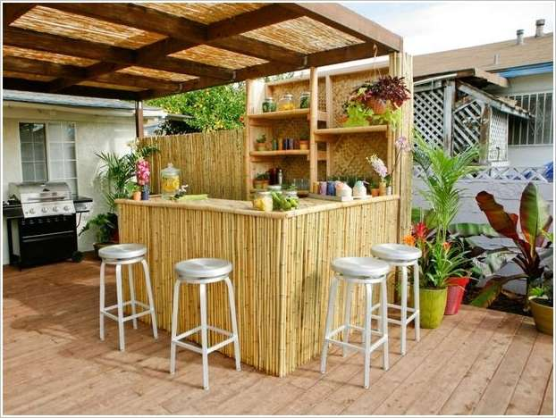 amazing diy outdoor bar ideas for your backyard