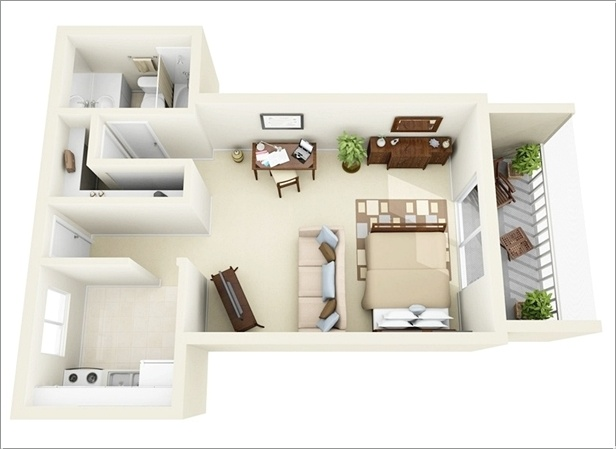 Small One Bedroom Apartment Floor Plans 10 ideas for one bedroom apartment floor plans