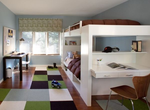 10 modern bunk bed design ideas - Bunk bed decorating ideas ...