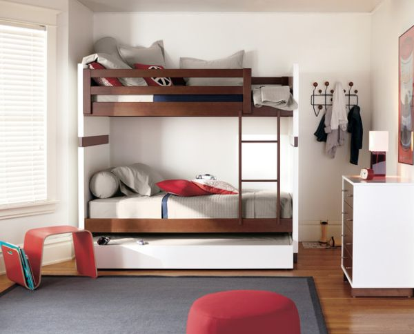 10 modern bunk bed design ideas - Bunk bed designs for small rooms ...