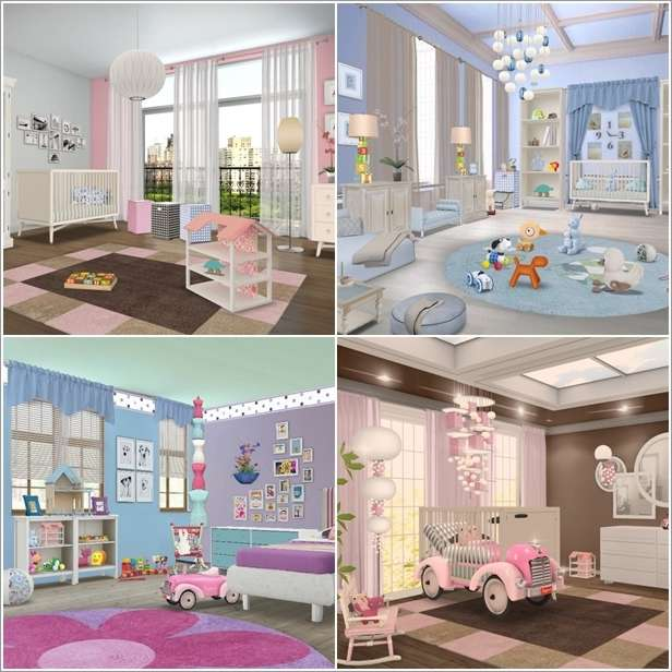 33 kids room models made by homestyler. Black Bedroom Furniture Sets. Home Design Ideas