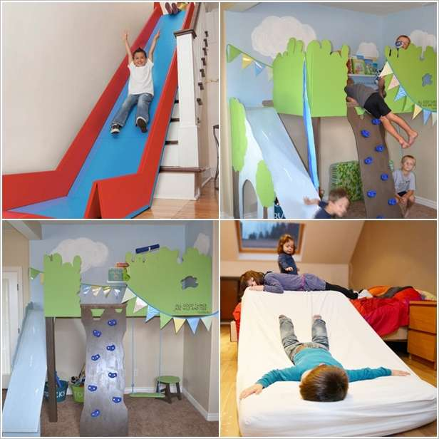 5 Cool Indoor Slides that Your Kids will Totally Love