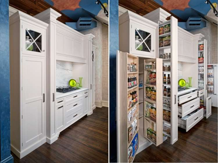 5 fabulous hidden storage ideas for your kitchen for Hidden kitchen storage ideas