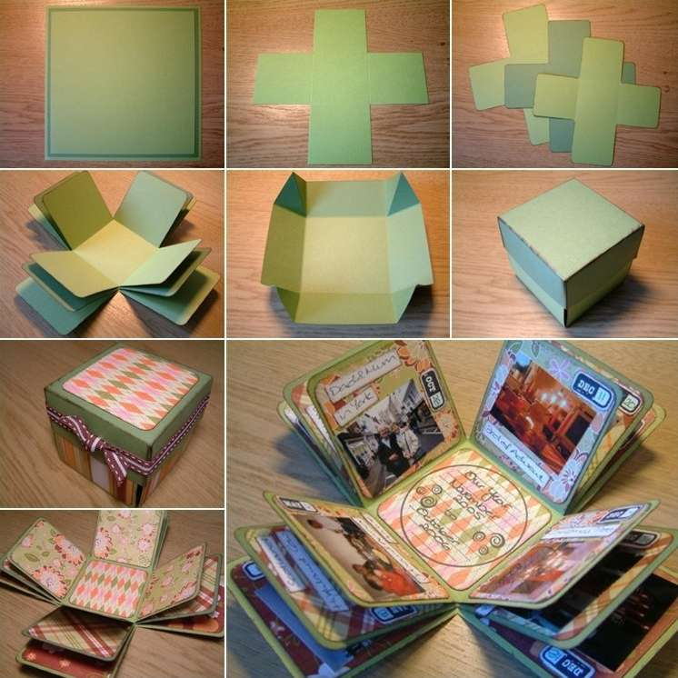 Home Design Gift Ideas: This Exploding Box Photo Album Is So Unique And Amazing