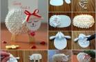 DIY- Cute Cotton Swab Lambs