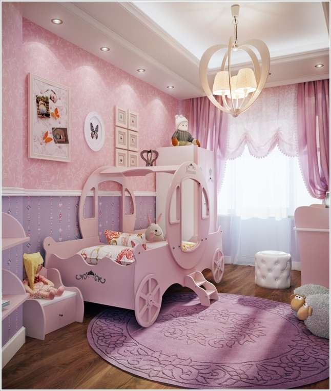 10 Cute Ideas To Decorate A Toddler Girl's Room