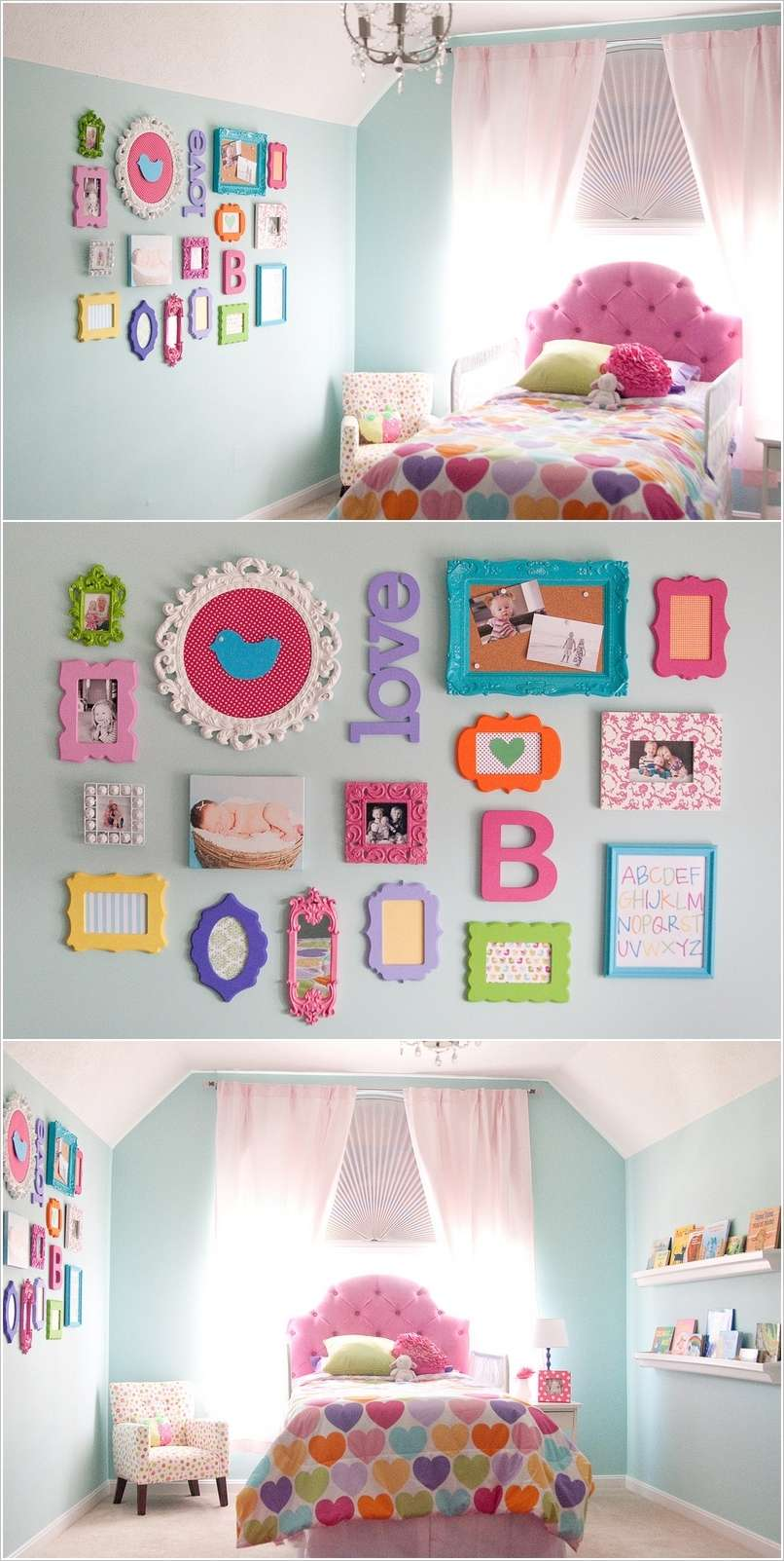 10 cute ideas to decorate a toddler girl 39 s room for Toddler girl bedroom ideas