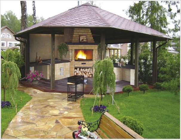 Outside Kitchen Ideas  Build Outdoor Kitchen Outdoor