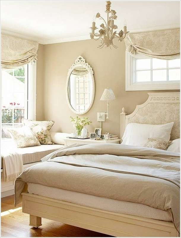 10 amazing monochromatic bedroom decorating ideas for Bedroom designs beige