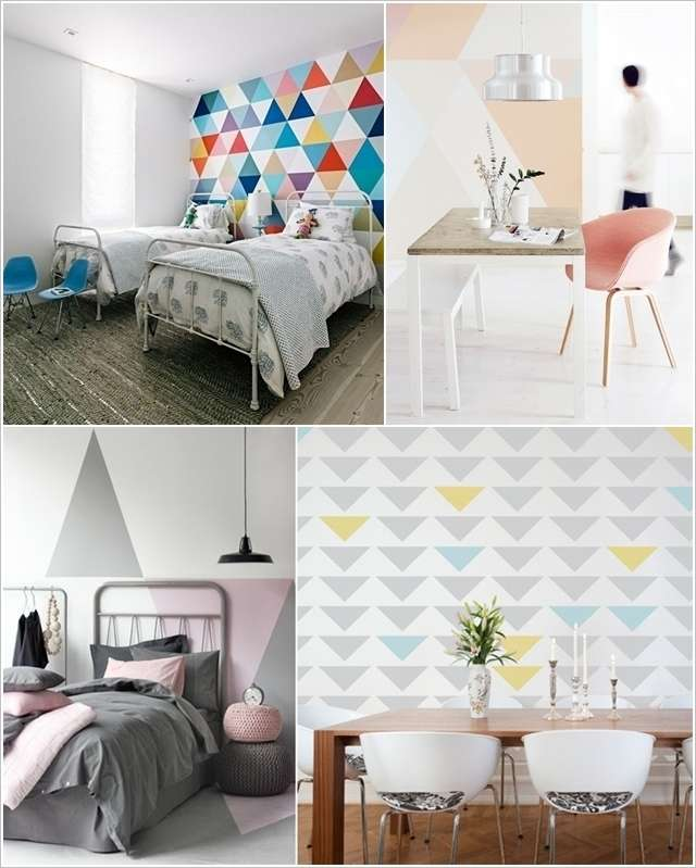 10 amazing ideas to decorate with geometric shapes and - Sweet home decora ...