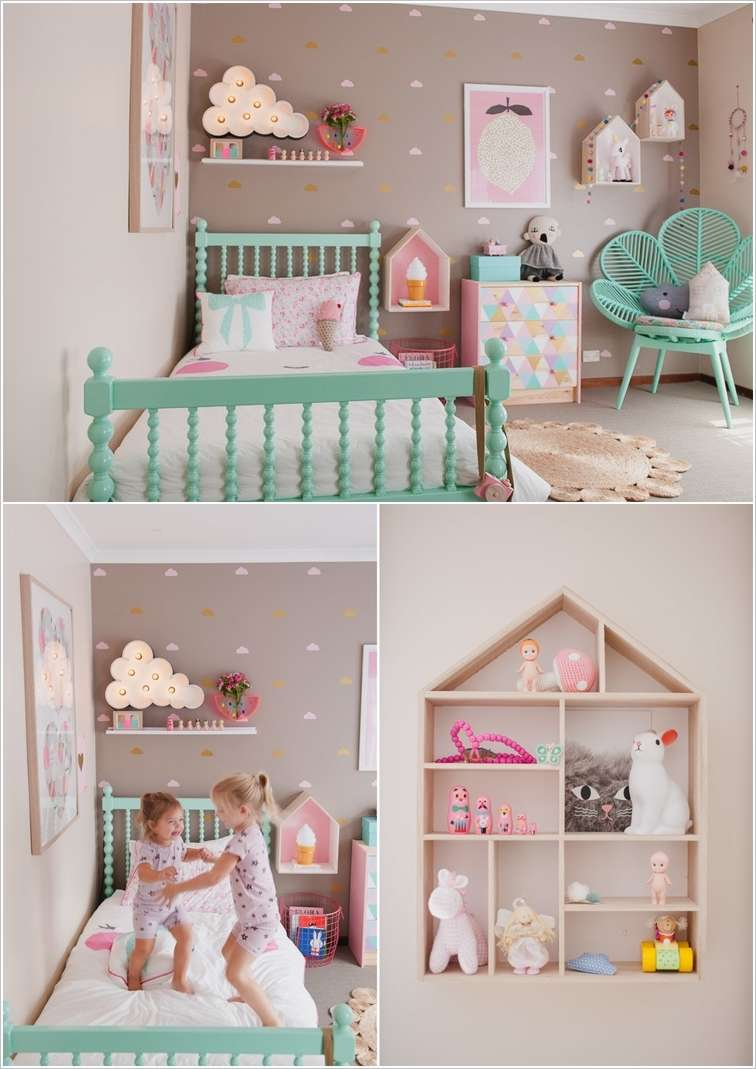 10 cute ideas to decorate a toddler girl 39 s room for Childrens bedroom ideas girl