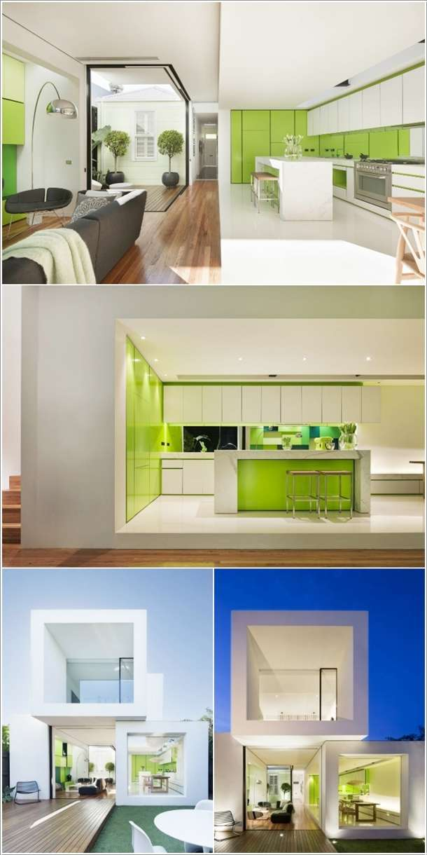 Amazing Ideas To Design Kitchen Combined With Living Room