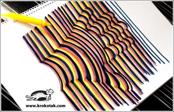 Amazing Interior Design This 3D Hand Drawing is So Cool and Easy Peasy