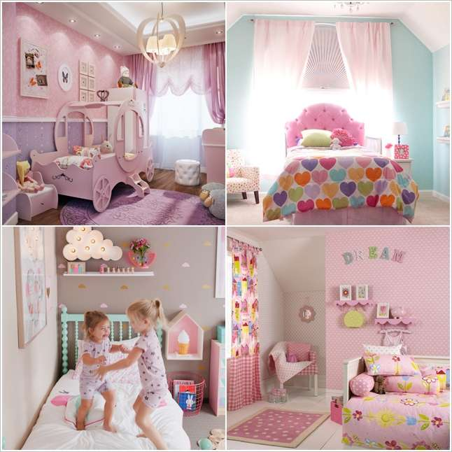 10 cute ideas to decorate a toddler girl 39 s room - Baby girl bedroom ideas ...