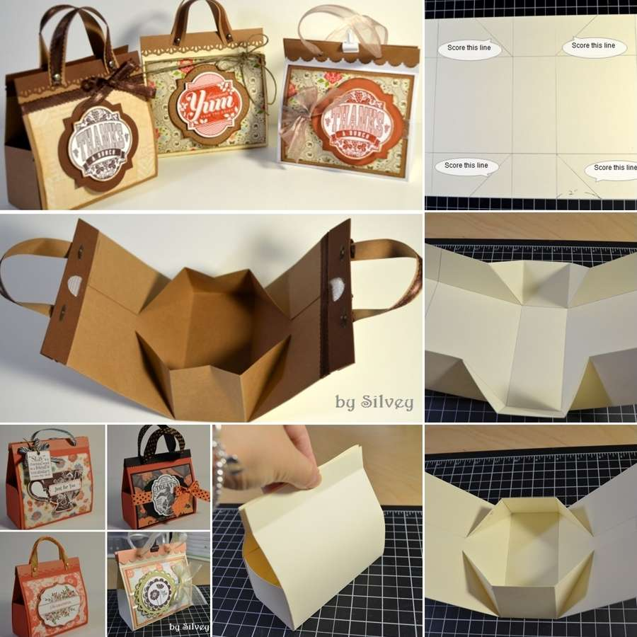 Craft These Cute And Creative Mini Gift Bags