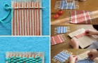 Weave These Amazing Coasters With Cardboard and Yarn