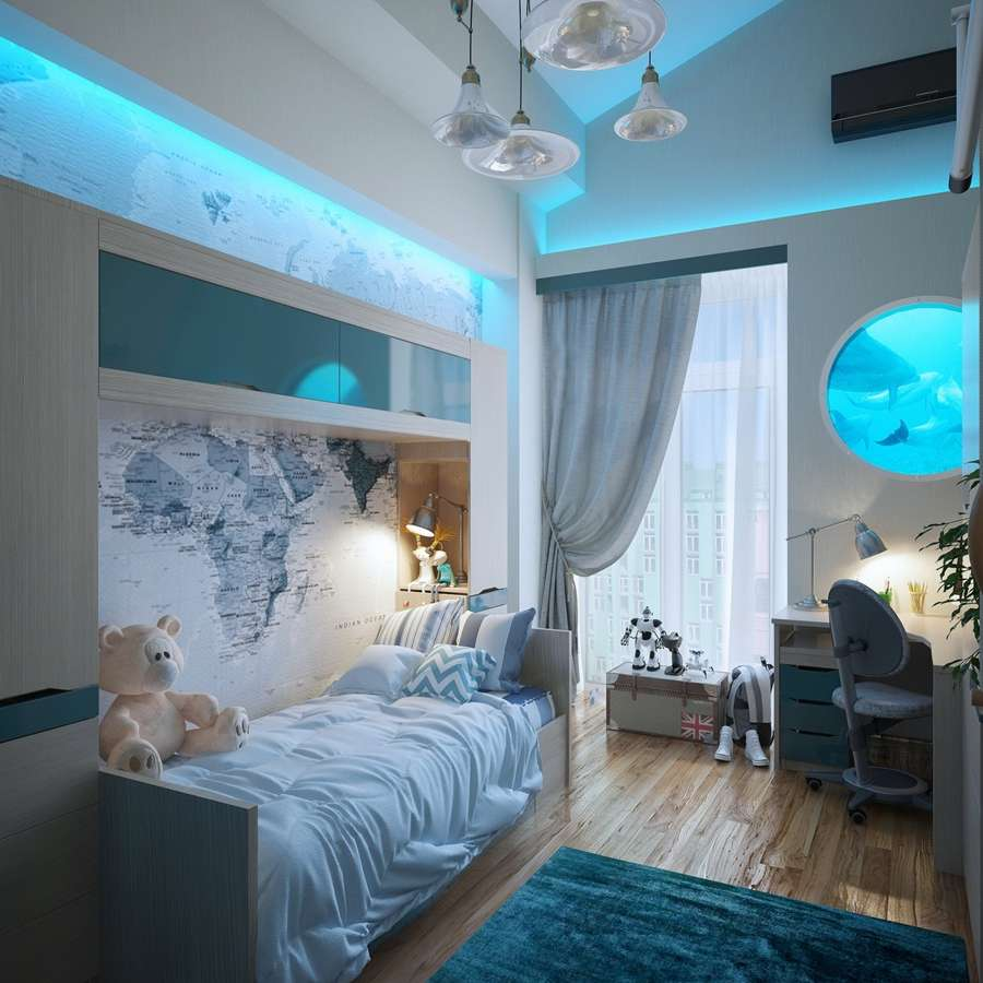 7 amazing lighting ideas for your kids room for Lights for kids room
