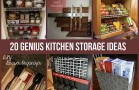 Ingenious Kitchen  Storage Hacks and Tricks