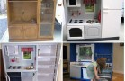 DIY- Transform Old TV Cabinet Into A Play Kitchen