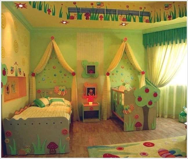 7 Cute Baby And Toddler Shared Room Designs